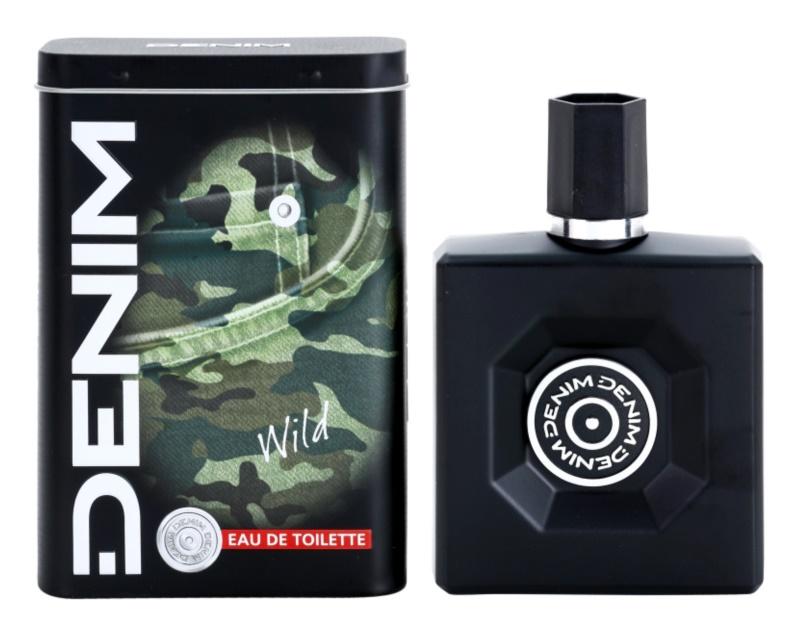 Denim Wild Eau de Toilette for Men 100 ml