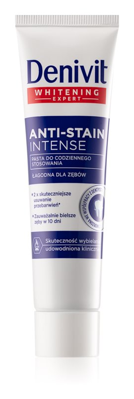 Denivit Anti Stain dentifrice blancheur intense
