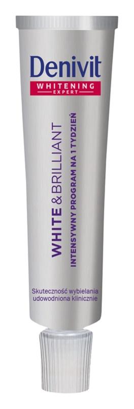 Denivit White & Brilliant intenzivní bělicí zubní pasta