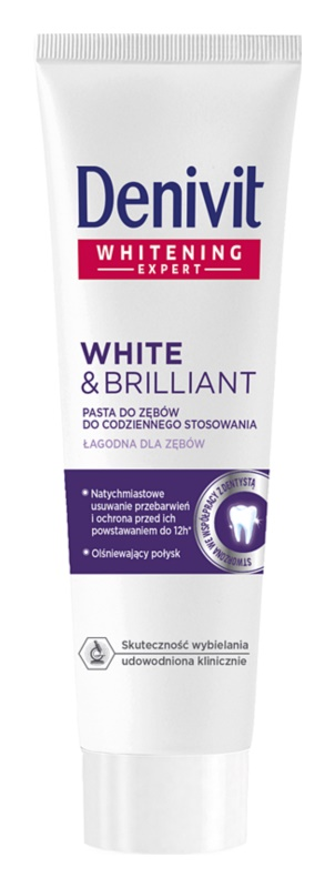 Denivit White & Brilliant Whitening Toothpaste