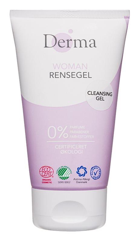 Derma Woman gel nettoyant détoxifiant