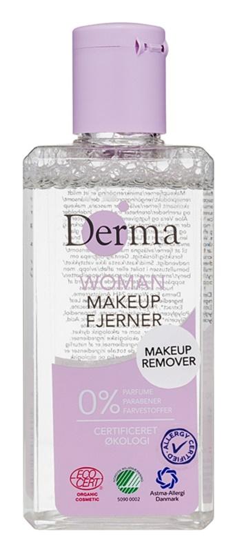 Derma Woman démaquillant visage et yeux