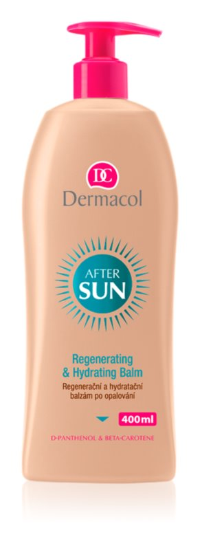 Dermacol After Sun regenerierendes und feuchtigkeitsspendendes Balsam nach dem Sonnen