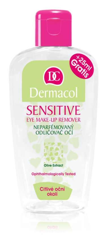 Dermacol Sensitive démaquillant pour yeux sensibles