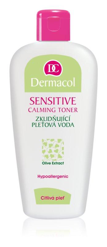 Dermacol Sensitive upokojujúca pleťová voda pre citlivú pleť