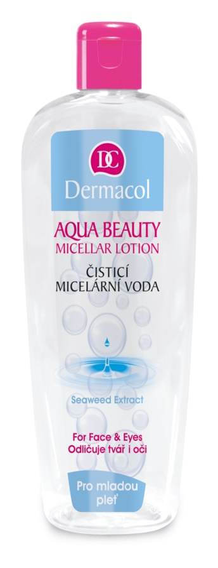 Dermacol Aqua Beauty čisticí micelární voda pro mladou pleť