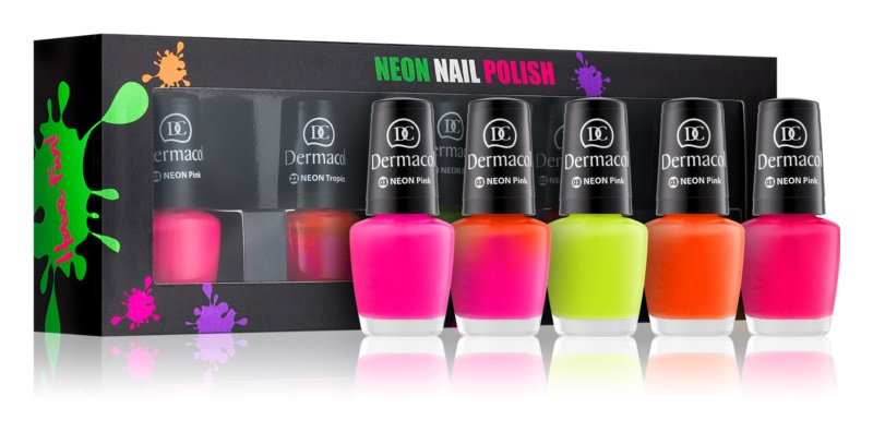 Dermacol Neon Cosmetic Set I.