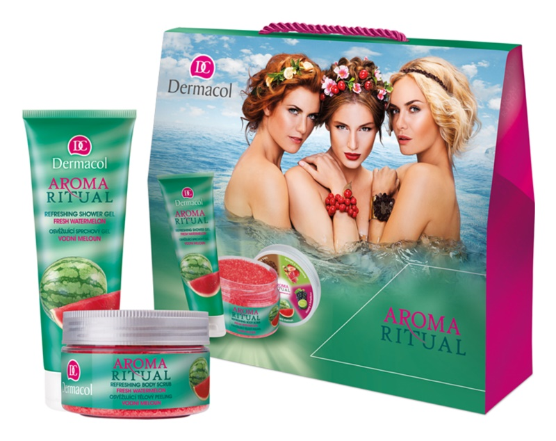 Dermacol Aroma Ritual lote cosmético XXI.