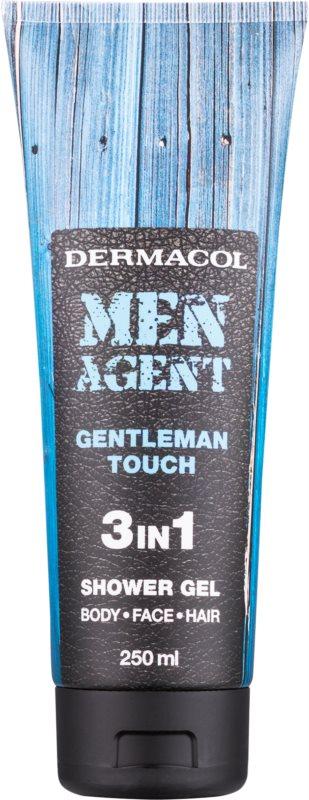 Dermacol Men Agent Gentleman Touch sprchový gél 3v1