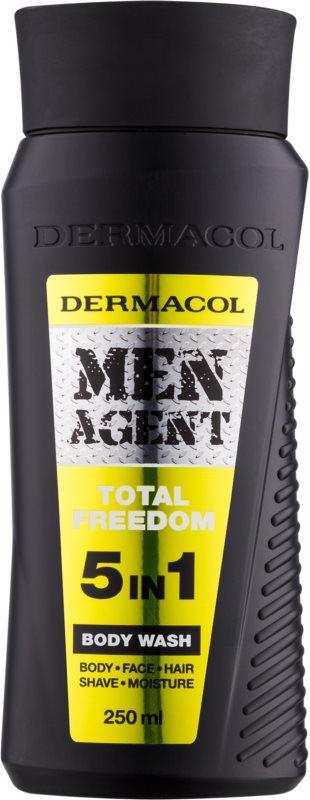 Dermacol Men Agent Total Freedom sprchový gel  5 v 1