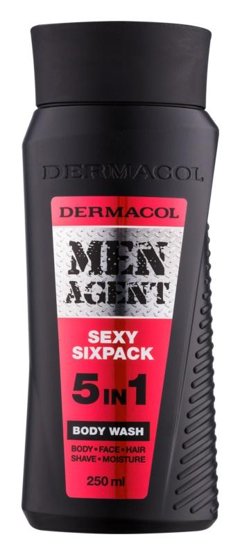 Dermacol Men Agent Sexy Sixpack Gel de duș 5 in 1