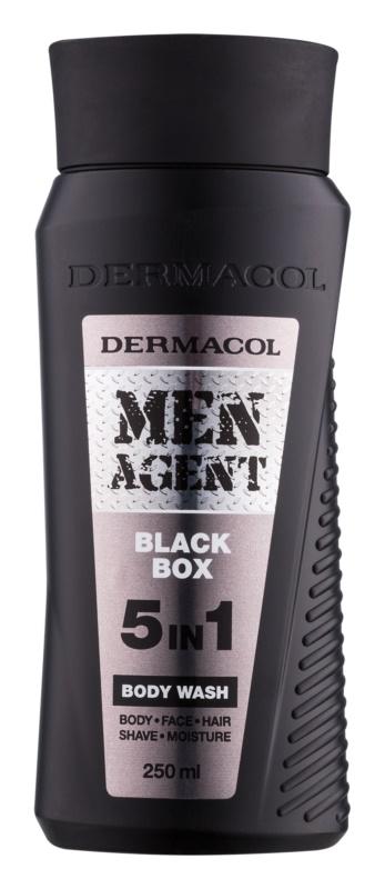 Dermacol Men Agent Black Box гель для душа 5 в 1