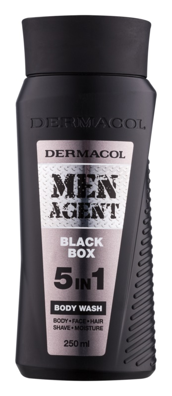 Dermacol Men Agent Black Box Body Wash 5 In 1