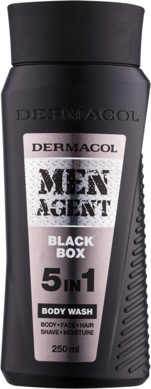 Dermacol Men Agent Black Box Douchegel  5in1