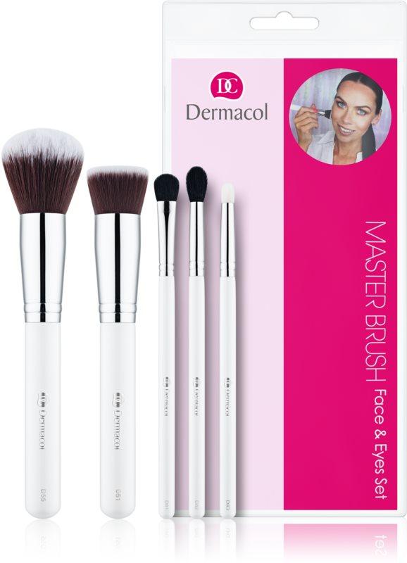 Dermacol Master Brush by PetraLovelyHair набір щіточок для макіяжу