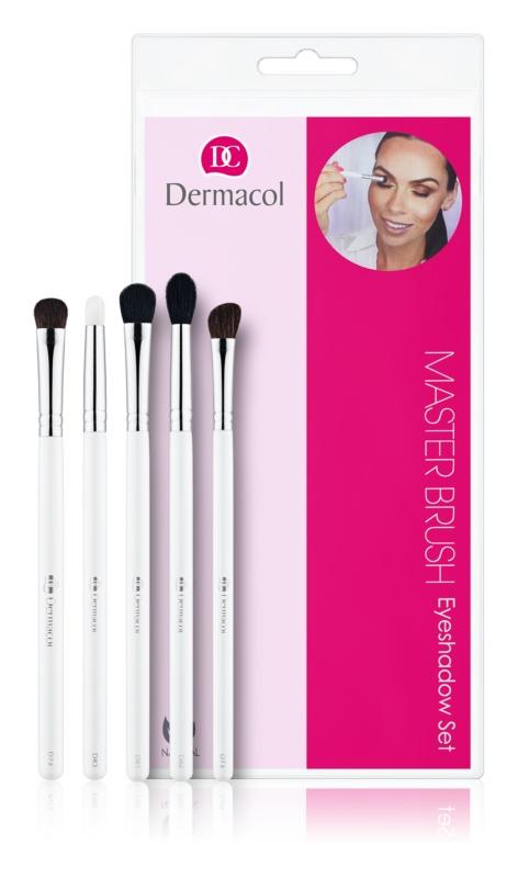 Dermacol Master Brush by PetraLovelyHair набір щіточок для макіяжу для тіней для повік
