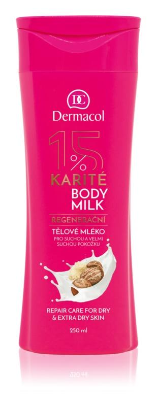 Dermacol Body Care Karité regenerační tělové mléko pro suchou až velmi suchou pokožku