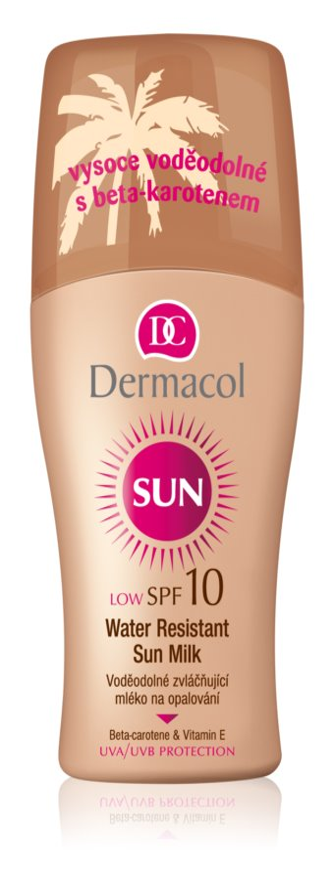 Dermacol Sun Water Resistant wasserfeste Sonnenmilch LSF 10