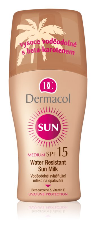 Dermacol Sun Water Resistant latte abbronzante waterproof SPF 15
