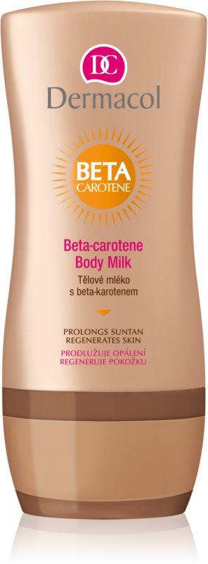 Dermacol After Sun молочко для тіла для підвищення стійкості засмаги
