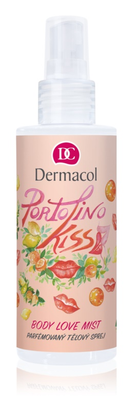 Dermacol Body Love Mist Portofino Kiss спрей для тіла