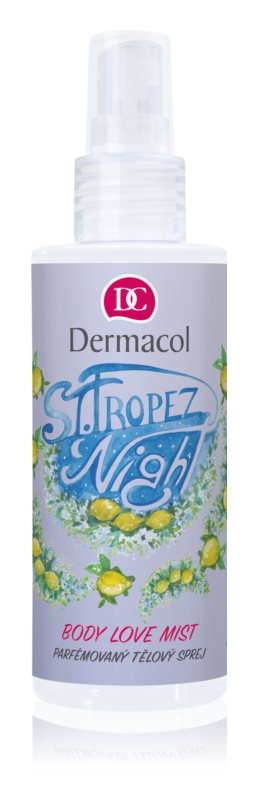 Dermacol Body Love Mist St. Tropez Night parfémovaný telový sprej
