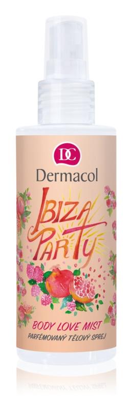 Dermacol Body Love Mist Ibiza Party parfemovaný tělový sprej
