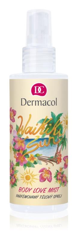 Dermacol Body Love Mist Waikiki Sun parfémovaný telový sprej