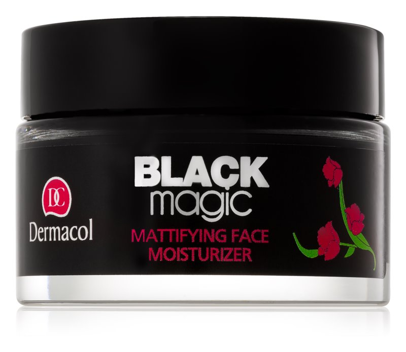Dermacol Black Magic matirajoči vlažilni gel