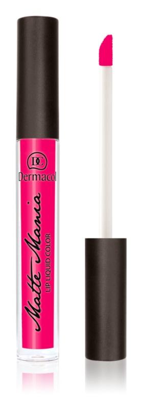 Dermacol Matte Mania matný tekutý rúž