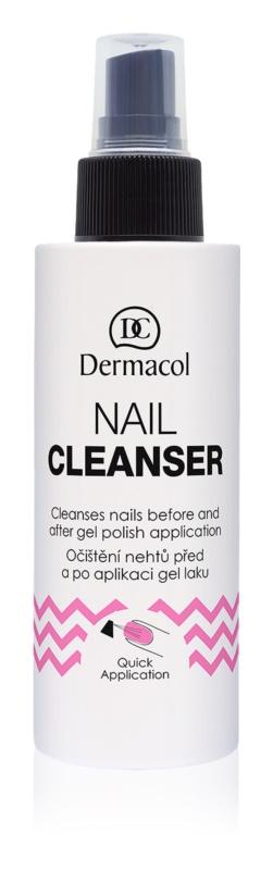 Dermacol Nail Clenser čistič nechtov v spreji