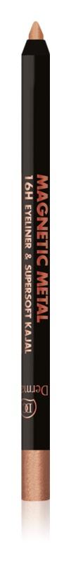 Dermacol Magnetic Metal metalická ceruzka na oči