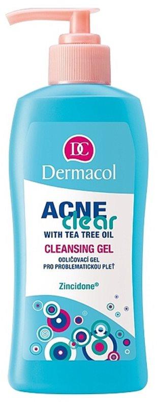Dermacol Acneclear sminklemosó gél problémás és pattanásos bőrre