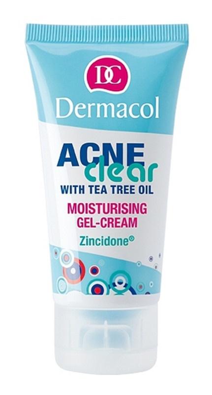Dermacol Acneclear hidratáló géles krém problémás és pattanásos bőrre