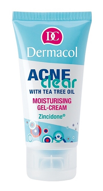 Dermacol Acneclear Moisturizing Gel Cream For Problematic Skin, Acne