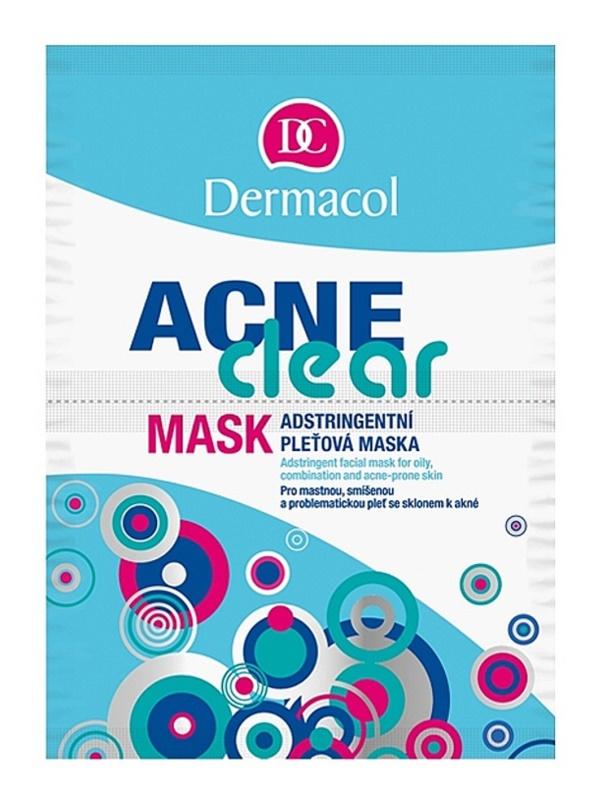 Dermacol Acneclear masque visage pour peaux à problèmes, acné
