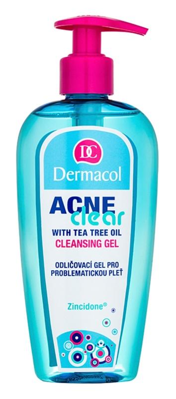 Dermacol Acneclear odličovací čisticí gel pro problematickou pleť