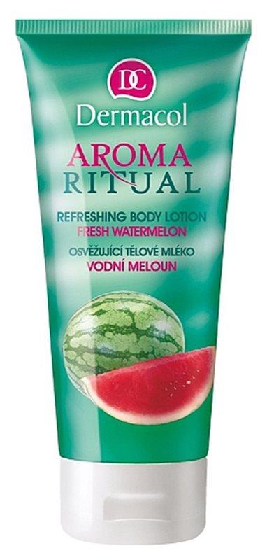 Dermacol Aroma Ritual osvěžujúce telové mlieko