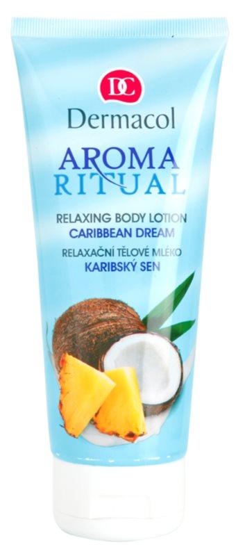 Dermacol Aroma Ritual lait corporel relaxant à l'huile de coco