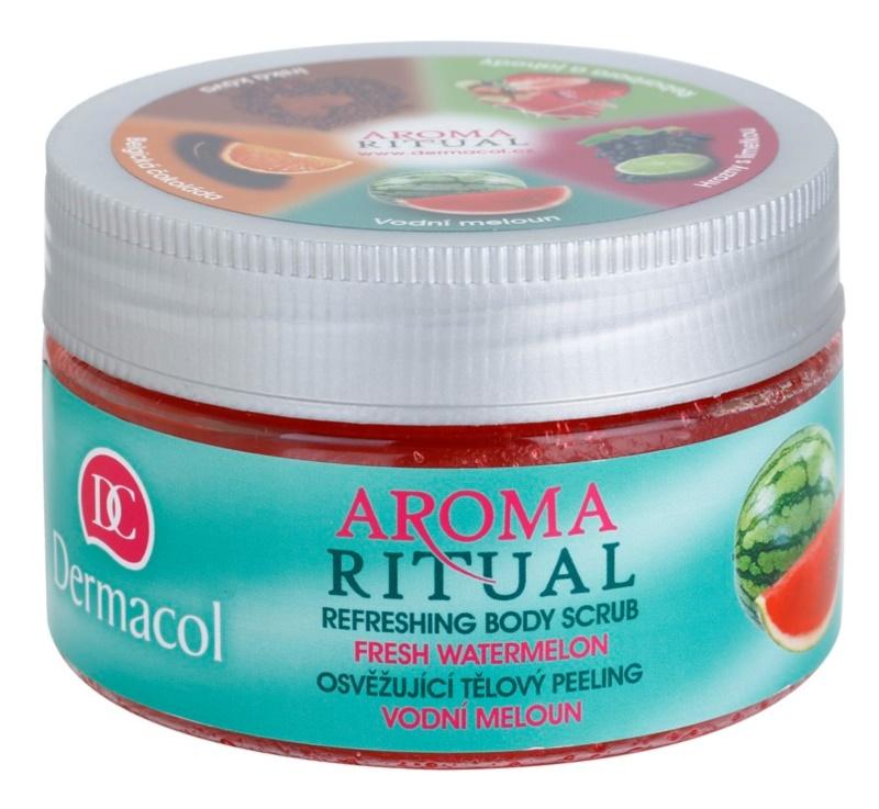 Dermacol Aroma Ritual frissítő testpeeling