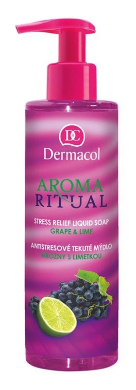 Dermacol Aroma Ritual antistresové tekuté mydlo s pumpičkou