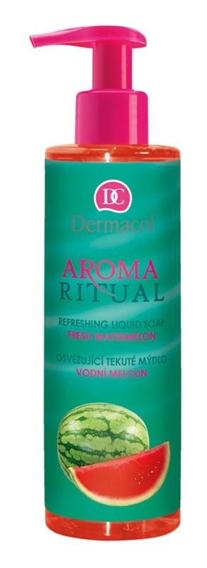 Dermacol Aroma Ritual osvěžující tekuté mýdlo s pumpičkou