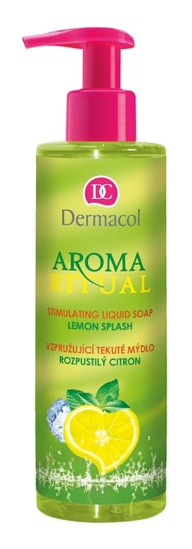 Dermacol Aroma Ritual vzpružující tekuté mýdlo s pumpičkou
