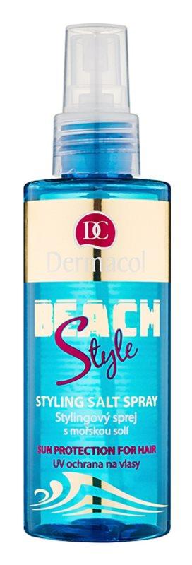 Dermacol Beach Style spray pentru păr cu protecție termică cu sare de mare