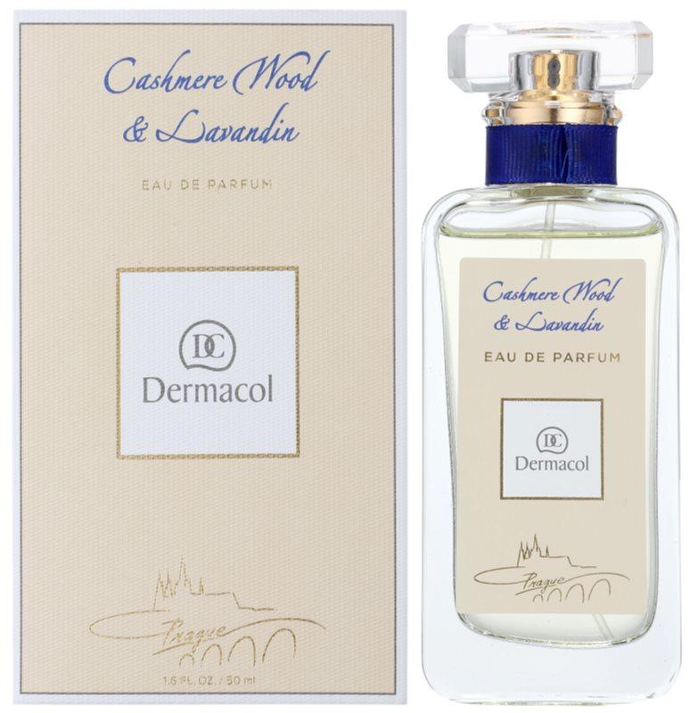 Dermacol Cashmere Wood & Lavandin parfémovaná voda unisex 50 ml
