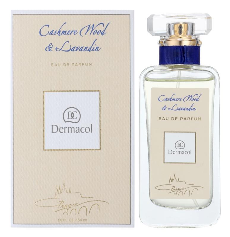 Dermacol Cashmere Wood & Lavandin parfumska voda uniseks 50 ml