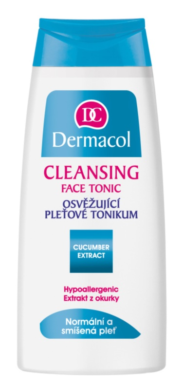 Dermacol Cleansing osviežujúce pleťové tonikum