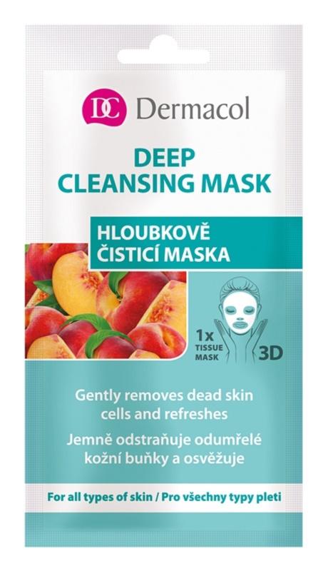 Dermacol Deep Cleasing Mask máscara em folha 3D para limpeza profunda