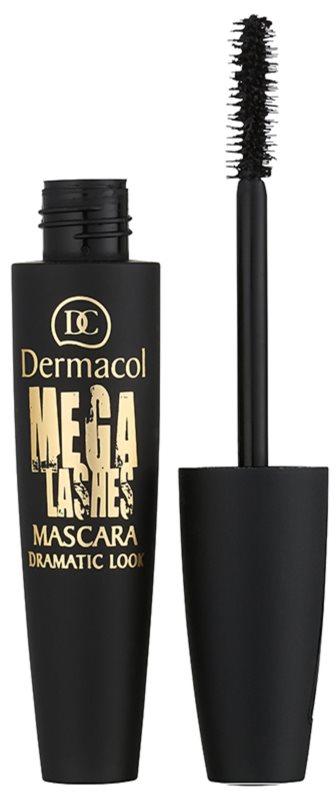 Dermacol Mega Lashes Dramatic Look mascara pentru volum si curbare