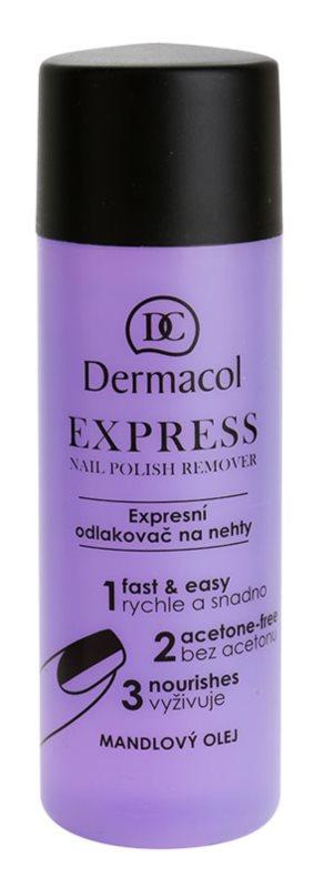 Dermacol Express dizolvant pentru oja fara acetona